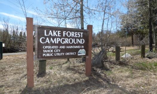 Read Lake Forest Campground Opens May 24