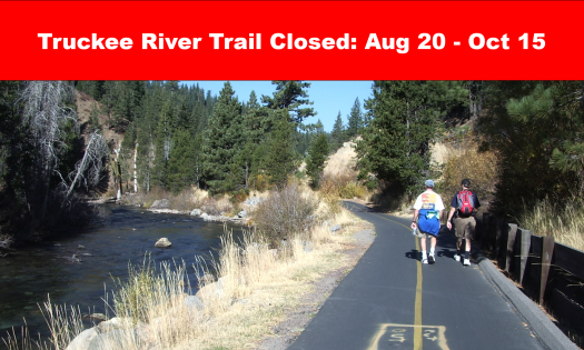 Read Truckee River Bike Trail Construction