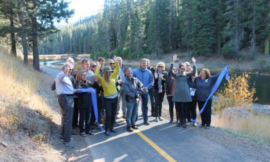 Read Truckee River Trail Now Officially Re-Opened